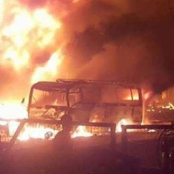 उत्तर पश्चिम पाकिस्तान की सब्जीमंडी में विस्फोट, 25 मरे