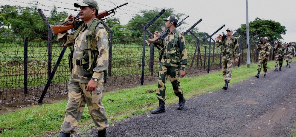 bsf constable injured in cross border firing in jammu and kashmir