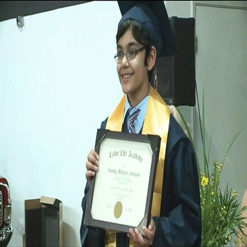Tanishq Abraham youngest graduate