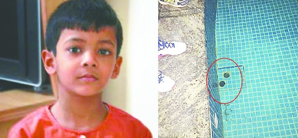 aditya who fall in swimming pool and hospitalised from 9 days lost his life