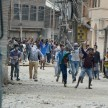 Plot violence in the kashmir Valley