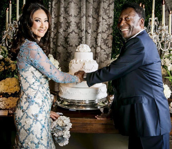 Brazil legend Pele set to marry for a third time, to girlfriend of six years Marcia Cibele