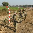 indian army vacated villages restricted LOC