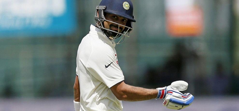 virat kohli first indian captain who double ton at away