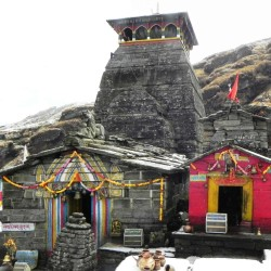 Tungnath temple is in danger due to stone collapse