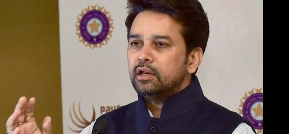 Pakistani cricketer criticize  Anurag thakur's statement on indo-pak cricket