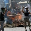 voilence raised up in kashmir again on friday 1 died 72 arrested