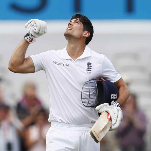 Alastair cook is going to become highest test playing cricketer of england