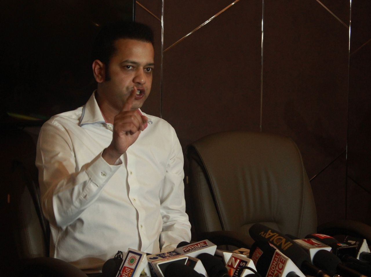rahul mahajan speaks about abuse controversy in uttar Pradesh.