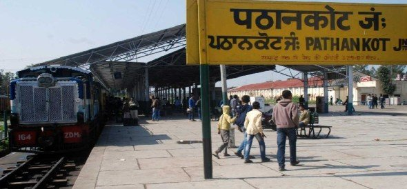 railway divert root and stopped 6 train services between pathankot and himachal,