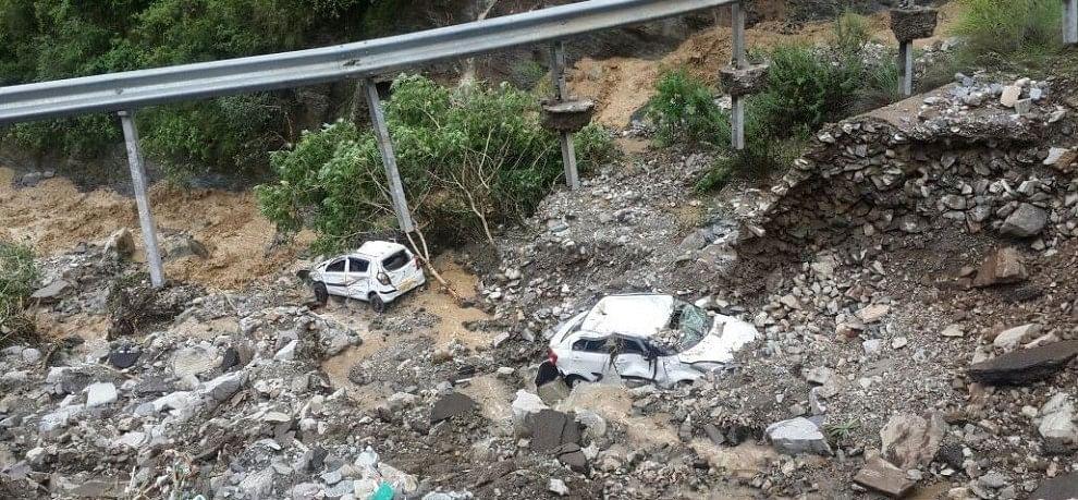 rain destroyed uttarakhand hill areas