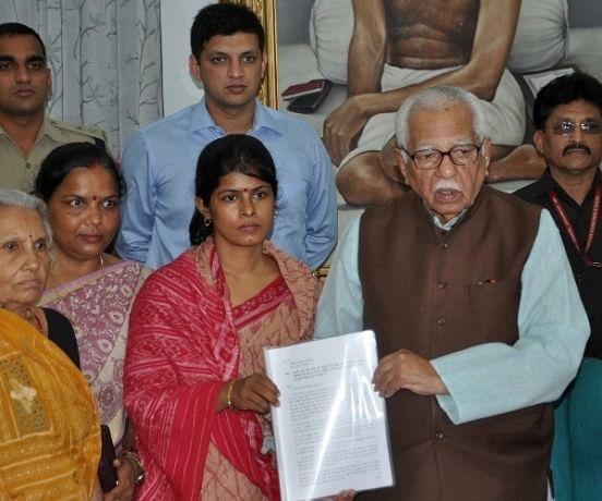 swati singh meets to governor of Uttar pradesh.