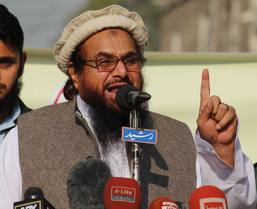 HAFIZ SAEED Said- Kashmiri terrorist giving 'fitting reply' to india
