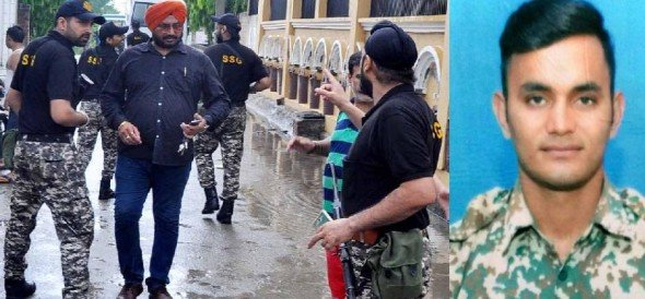 Looted of weapons from Kashmir, 2 arrested, BDF Jawan ran