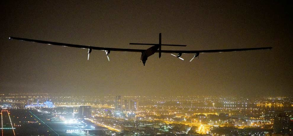solar impulse completed his historic round, see pictures