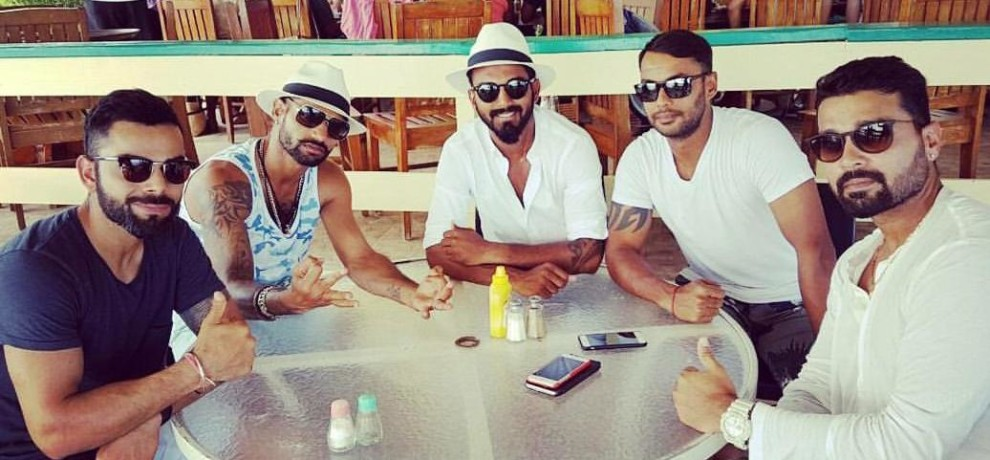 Team India Reached Jamaica For the Second Test Match