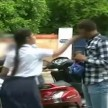 eve-teaser slapped publicly by a school girl