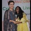 film actress diya mirza in lucknow