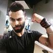 Virat Kohli Pumps In Gym Before Jamaica Test