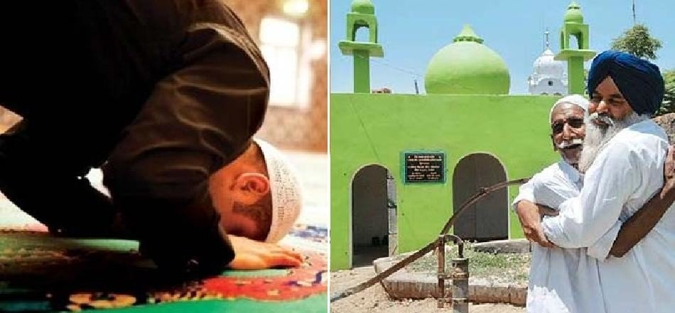 salute to friendship, sikh man constructed masjid in village for muslim friend family
