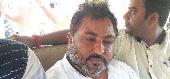 Former BJP Uttar pradesh Vice president detain