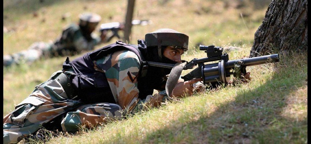 pak voilated ceasefire in rajouri sector of jammu