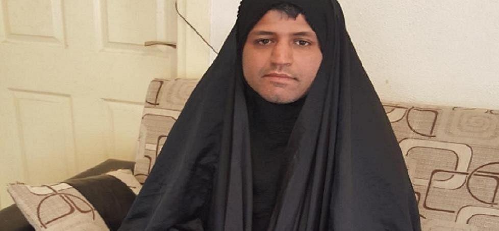 men in Iran are wearing hijabs