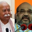 BJP and RSS is not agree on chief of UP election