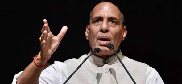 rajnath met with Opposition leader