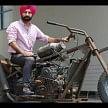 mohali repairist ranjit randhava assembled super bike bambukat by using garbage things