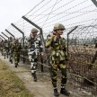 borders of jammu and kashmir seized after infiltration bid in punjab