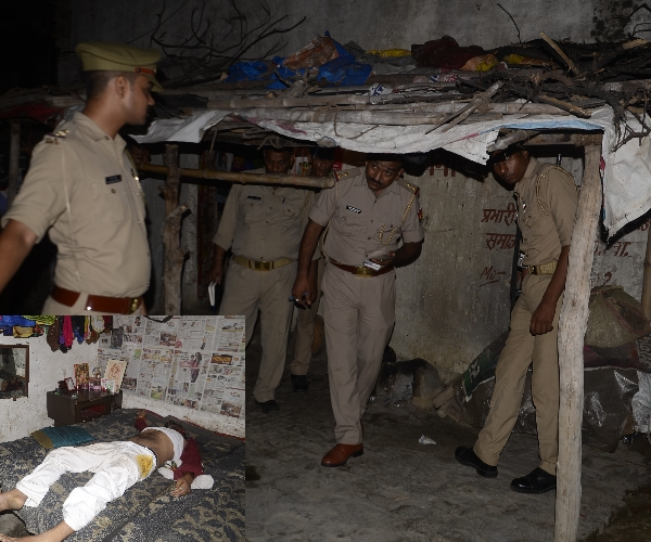 SP leader murdered in Lucknow.