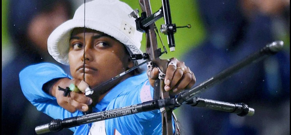 deepika kumari lost in first round of archery world cup
