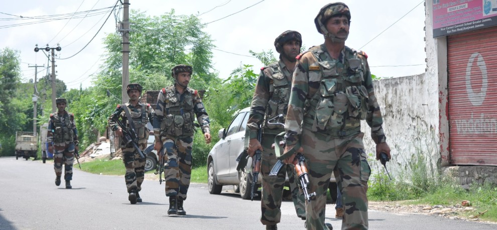 A three-tier military operation in Kashmir
