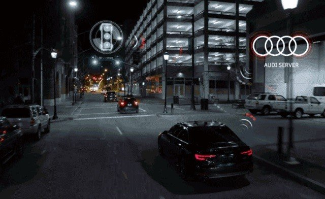 Now Audis Can Tell You When Traffic Lights Go Green