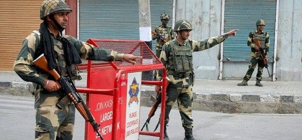 security handover to CRPF in srinagar