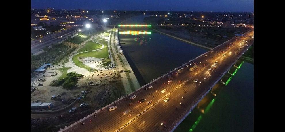 Budget for gomati riverfront.