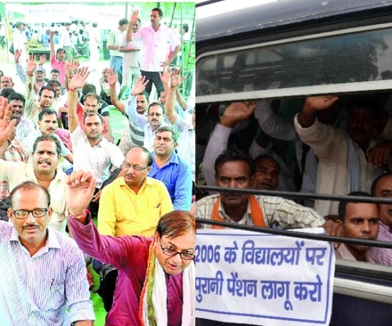 protests in Uttar Pradesh.