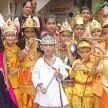 janmashtami festival celibrate in school