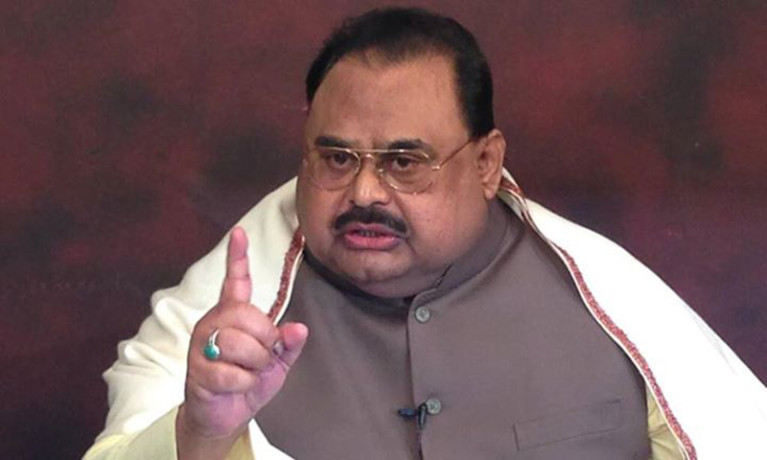 mqm leader altaf hussain says army and isi are biggest enemy of pakistan