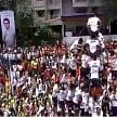 'Heightened' Dahi Handi revelry continues despite court curb