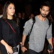 Shahid Kapoor with pregnant wife Mira Rajput