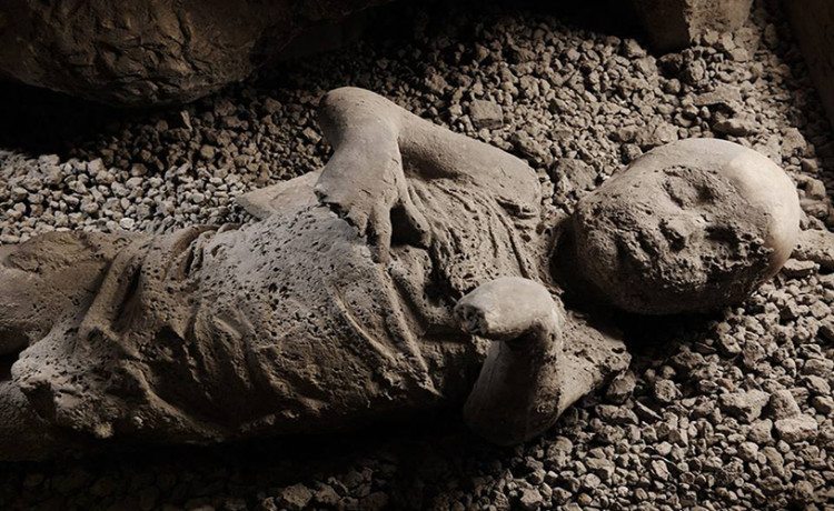 people buried in Pompeii