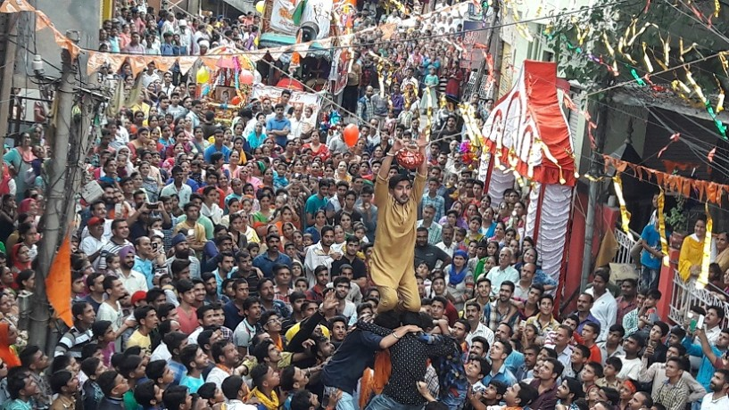 janmashtami celebration in rajouri