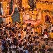 live picutures of krishna janmashtmi from mathura