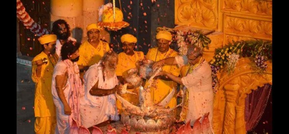 Live Krishna janmashtami celebration from mathura