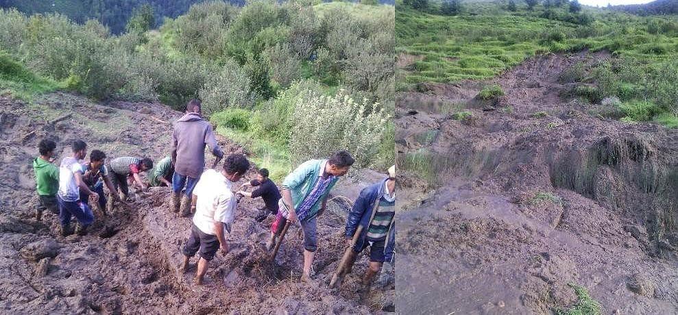 5 Died, cloudburst in rampur himachal pradesh