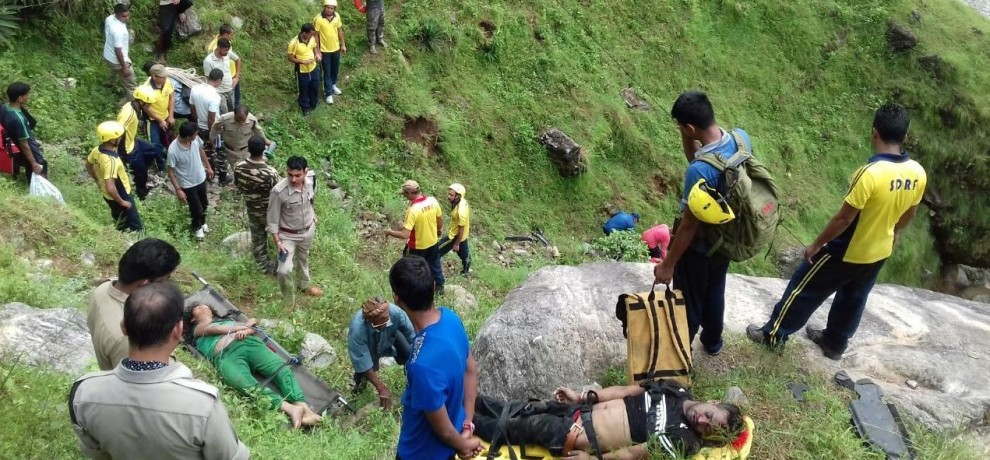 road accident in dharchula, three dead