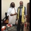burhan wani father met with shri shri