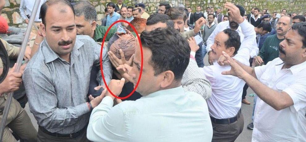 Yug murder case accused beaten up by public in court premises